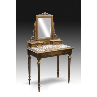Muebles. Tocador, Francia, siglo XIX.