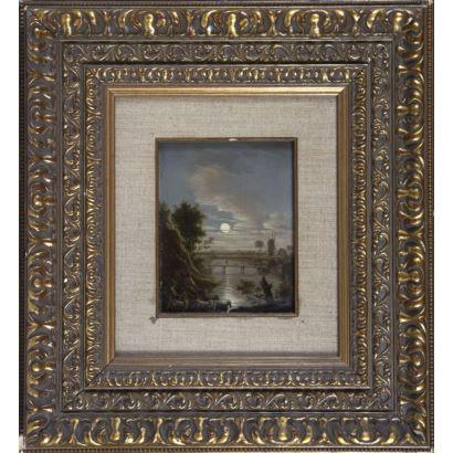 Nicolas Louis Albert DELERIVE (Lille, Francia, 1755-1818)