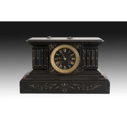 Relojes. Reloj de sobremesa francés, principios S. XX.