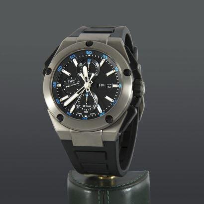 Reloj de pulsera IWC Ingenieur Double Chronograph Titanium