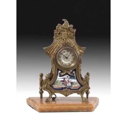Reloj de sobremesa, estilo Luis XVI, PPIOS  S. XX.