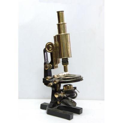 Microscopio de polarización, Carl Zeiss Jena, circa 1900.