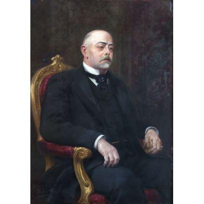 Eugenio Oliva y Rodrigo (Palencia, 1852 - Madrid, 1925)