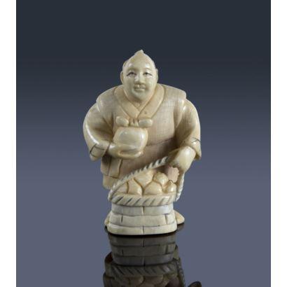 Netsuke oriental, S. XX.