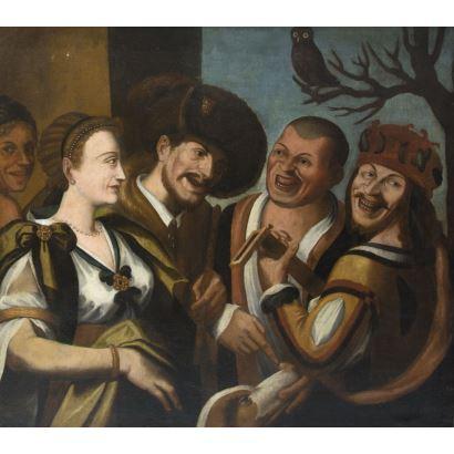 Pintura de Alta Época. Atribuido a Niccolo FRANGIPANE (1555-1600)