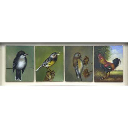 Conjunto de cuatro tablas, S. XX.