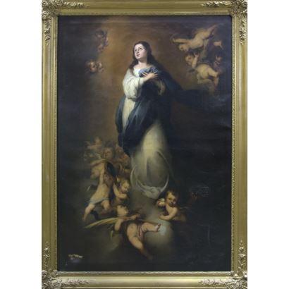 Pintura de Alta Época. JOSE MARÍA ROMERO Y LÓPEZ (1815 - 1880)