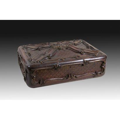 Objetos. Caja, China, circa 1800.