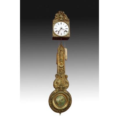 Reloj morez, Francia, segunda mitad S. XIX.