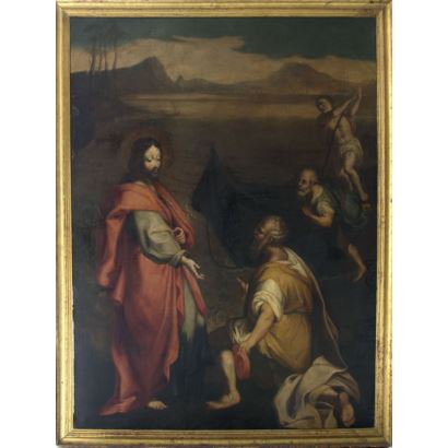 Siguiendo modelos de Federico Barocci (Urbino, h.1533-1612)