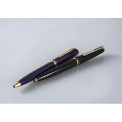 Bolígrafos de colección Montblanc, siglo XX.