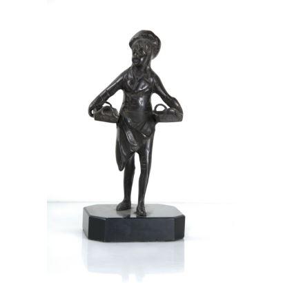 Escultura en bronce, siglo XX.