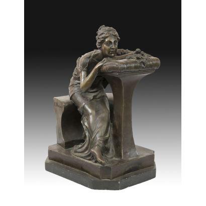 Siguiendo modelos de Pierre Jules Mène (1810 - 1879)