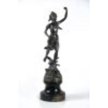 Escultura en bronce, S. XX.