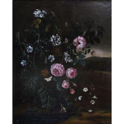 Pintura de Alta Época. Mathias Calzetti WITHOOS (Amersfoort, Países Bajos, 1627-1703)