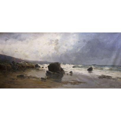 Pintura del siglo XIX. ELISEO MEIFRÉN ROIG (Barcelona, 1859 – ibídem, 1940)