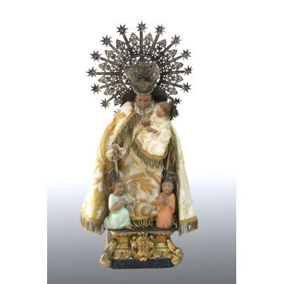 Virgen de los desamparados, h. 1920.