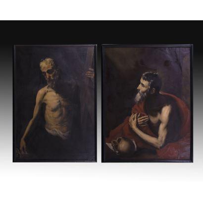 Siguiendo modelos de José de Ribera, S. XX.
