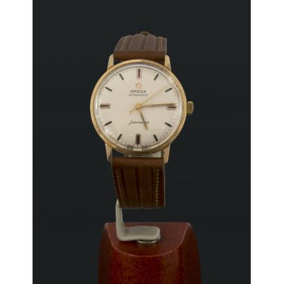 Reloj Omega Seamaster en oro, años 60.
