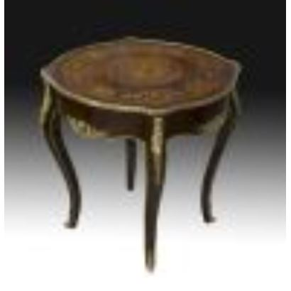 French style table, S. XX.