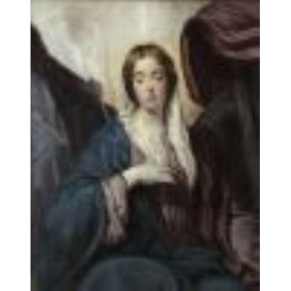 Following Velázquez models.