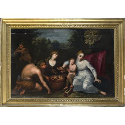 Seguidor de Frans Floris de Vriendt, S. XVII