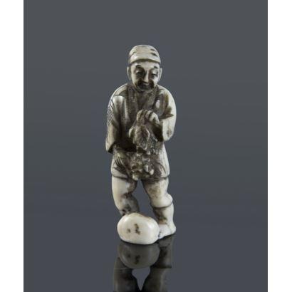 Netsukes. Netsuke Oriental, pps. XX.