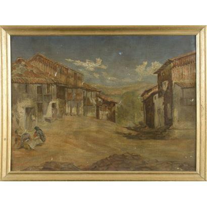 Escuela española, S. XIX.