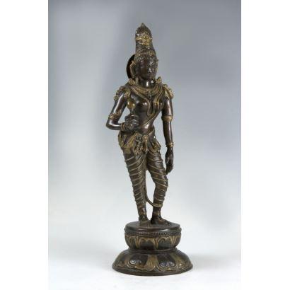 Bronces. Escuela hindú, S.XX.