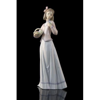 Figura en porcelana de Lladró.