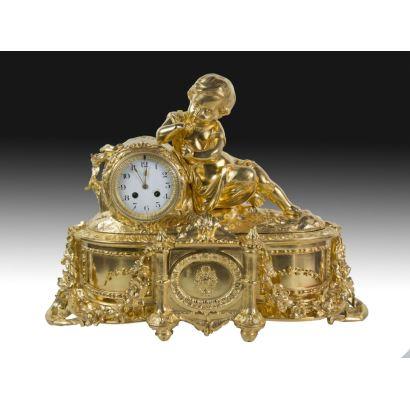 Reloj de sobremesa, S. XX.