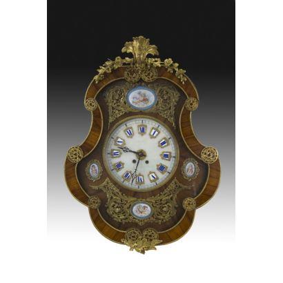 Reloj de pared, siglo XIX.