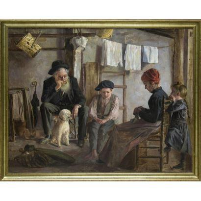 Pintura del siglo XIX. Luis Graner y Arrufi (Barcelona, 1863 - 1929)