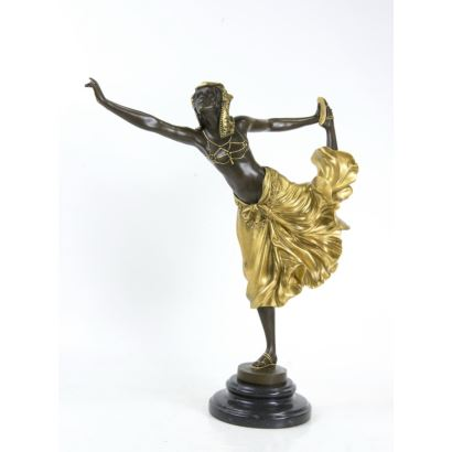 Bronze. According to CLAIRE JEANNE ROBERTE COLINET (Brussels, 1880-1950).