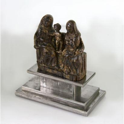 Esculturas. Escuela europea, S. XV.