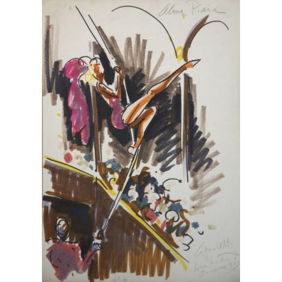 Pintura del siglo XX. José Manuel Capuletti Lillo del Pozo (Valladolid, 1925 – Eltville am Rhein, Alemania, 1978).