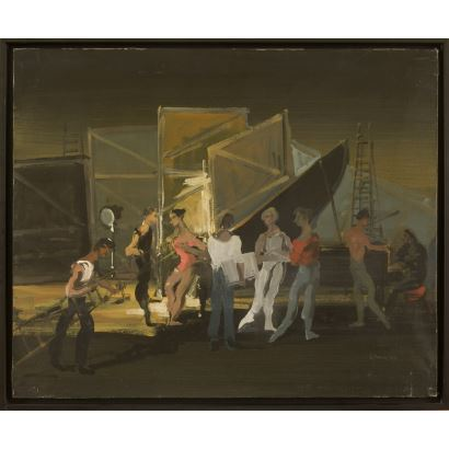 Pintura del siglo XX. LANCELOT, Monique (1923-1982).