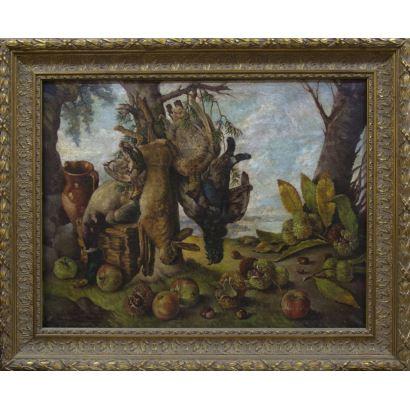 Pintura del siglo XX. Abelardo Miguel LÓPEZ LEIRA (Pontedume, 1918-1991)