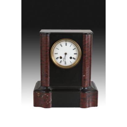 Relojes. Reloj de sobremesa, estilo Napoleón III.