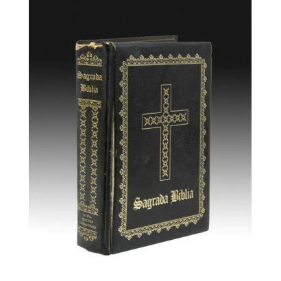 Libros y papel. Sagrada Biblia. Por Felix Torres Amat. Año 1965.