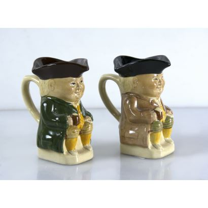 Pair of English jugs, pps. XX.