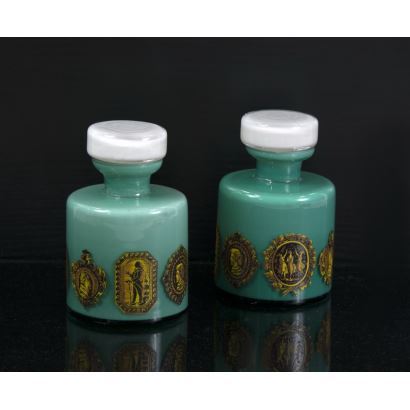 Pair of jars, 20th century.