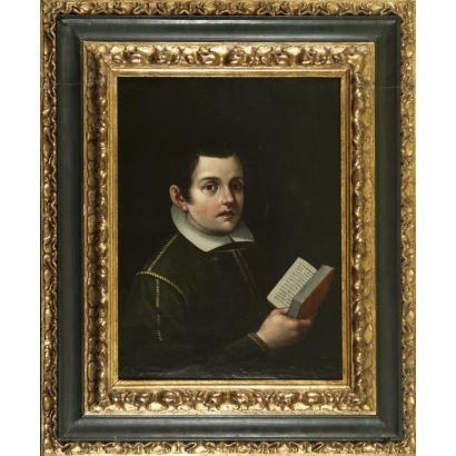 Óleo sobre lienzo. Reentelado. s.XVII.