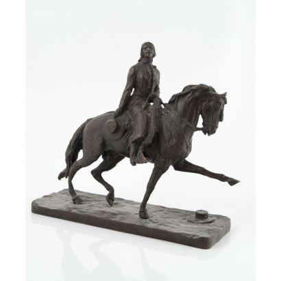Bronces. Escultura en bronce española, siglo XX.