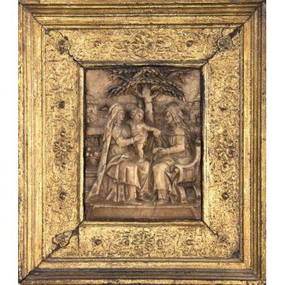 Sculpture. School of Mechelen, S. XVI-XVII.