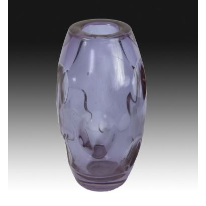 Glass vase by Murano, S. XX.