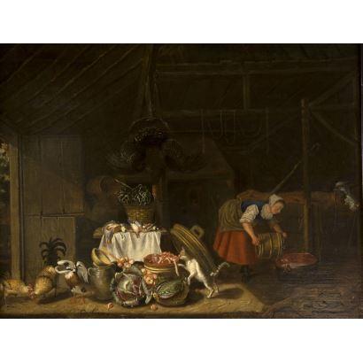 Pintura de Alta Época. Escuela Holandesa, S. XVII.