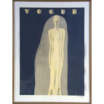 Vogue cover, 1930.