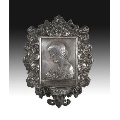 Benditera en plata, S. XIX.