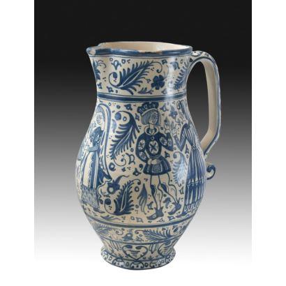 Spanish jug of the early twentieth century.